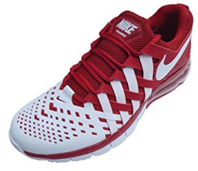 b3e85a1fc41 Одежда для мужчины NWT Nike Training Fingertrap Max TB Running Shoes-  Nebraska- 666410-600 -SZ-1 - 162582347407 - купить на eBay.com (США) с  доставкой в ...