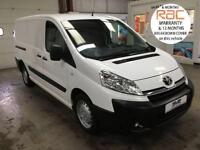 2015 15 TOYOTA PROACE L2 H1 LWB TWIN SIDE DOOR 2 LITRE 125 BHP WITH AIR CON