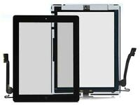 Ipad 4 Digitizer Glass Black and White With Free Fitting Just in £35