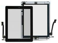 Ipad 3 touch screen Digitizer Glass Black and White with free fitting just in £28