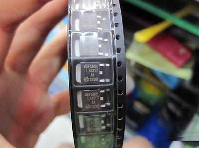 50pcs Lm317 Lm317m To252 Adjustable Voltage Regulator