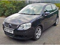 Volkswagen Vw Polo match 80, petrol manual low mileage. 2007 year SALE
