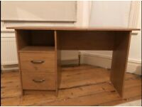 Office desk with draws - wood