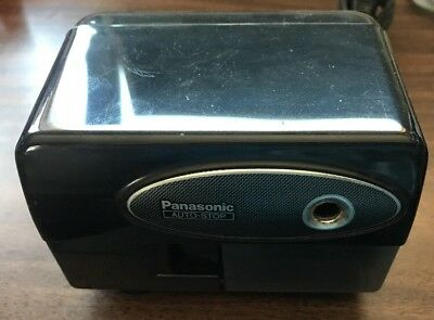 Panasonic Auto-stop Model Kp-310 Desktop Electric Pencil Sharpener Great Shape
