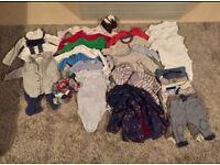 Baby boy clothes bundle (aged 3-6months)