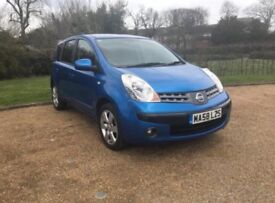 NISSAN NOTE 1.6 Tekna auto 2008 very low mileage