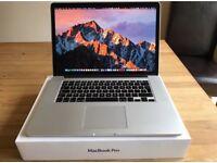"""MacBook Pro 15"""" Retina 2015/ 16 2.5ghz i7 16GB 500GB flash drive Logic Pro Adobe cs6 Office16"""
