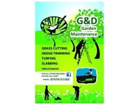 Gardener Available for all gardening needs