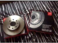 Brand new corsa C front discs