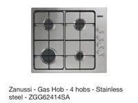 Zanussi ‑ Gas Hob ‑ 4 hobs ‑ Stainless steel