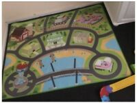 Paw Patrol Play Mat and Cars
