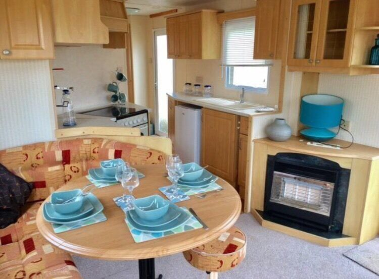 Static caravan for sale sea views available 12 month season