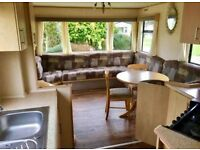 cheap static holiday home for sale near the sea on a park with great facilities