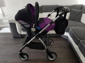 Silvercross pioneer travel system