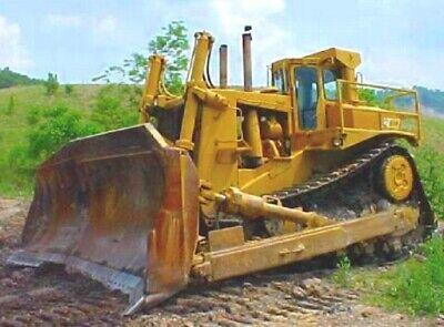 Caterpillar D10 Bulldozer With Coal Blade