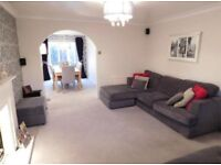 Grey Sofa Set Corner DFS Freya
