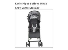 Katie Piper Believe MB02 Grey Camo Stroller RRP £109.99 - Boxed - Collection Only - £75