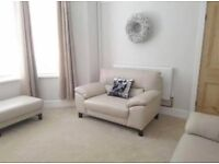 Brand New DFS Sofa, Chair and Footstool