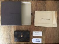 Louis Vuitton Ludlow Monochrome Wallet/Purse for coins & cards with dustbag & box