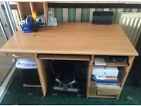 Computer desk - brilliant condition