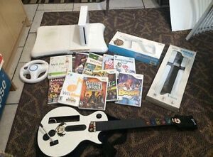 Selling Wii + Accessories (games etc)