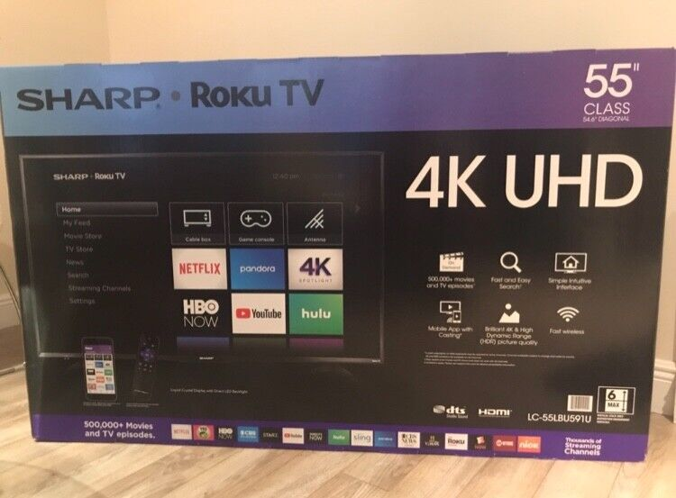 "Sharp LC-55Q7030U 55"" LCD (LED) Ultra HD TV"