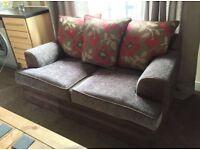 2 seater scatter back sofa