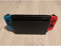 Nintendo switch neon ( like new condition )