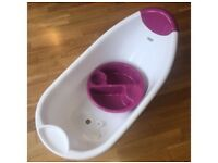 Mamas and papas bath with top 'n' tail bowl