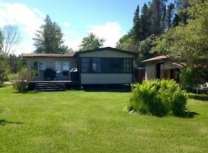 Seasonal Lakefront Cabin For Rent - Clearwater Lake