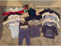 Baby boy clothes bundle (6-9months)