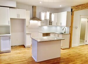 New 2 bedroom apartment June 1st Sud-ouest near metro & parking