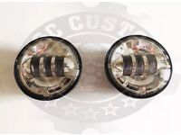 """Harley Davidson 4-1/2"""" daymaker style passing lights fog lights"""