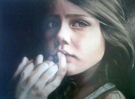 Painting & drawing(portrait,landscape,pet)oil painting,charcoal,pastel,acrylic,water colour,pencil,,