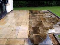 Pressure washing - patios, decking. Driveway / block paving clean and seal
