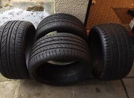 Porsche Type 2 Alloys with Tyres