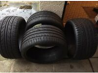 Porsche Type 2 Alloys with Tyres