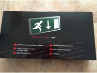 Fire exit sign new