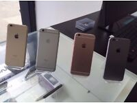 iPHONE 6S [32GB] WITH SHOP RECEIPT & WARRANTY, [ALL COLOURS & NETWORKS] AVAILABLE [GOOD CONDITION]