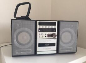 Retro Philips Micro Hi-Fi System MC-220