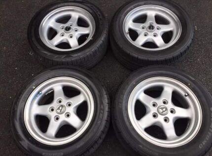Vl walkinshaw wheel and tyres