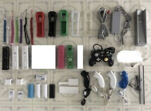 WII Accessories - Power Bar/ Controllers / Sensor / Nunchucks
