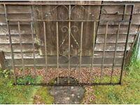 Heavy duty steel Double driveway gates