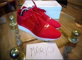 Balenciaga runner red size 9,10,11