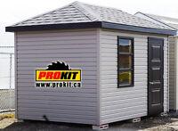Cabanon de jardin - garden shed - 8x12 remise
