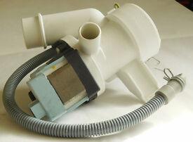 Candy washing machine pressure switch, drain pump