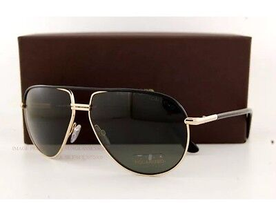 New Tom Ford Sunglasses TF0285 285 COLE 01J Gold Black G-15 POLARIZED ITALY CASE