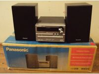 TECHNICS/ PANASONIC SP04 USB MP3 AMP CD PLAYER TUNER + SPEAKERS