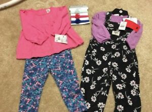9-12 Month Baby Girl Carter's Outfits New W/Tags