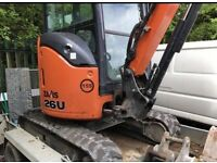 As new 2015 hitachi excavator 3 buckets for sale